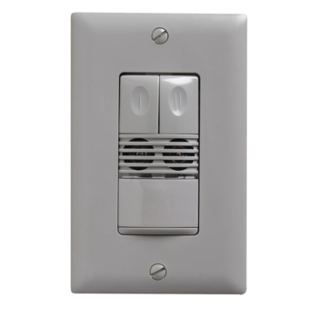 Dual Technology Dual Relay Wall Switch Sensor