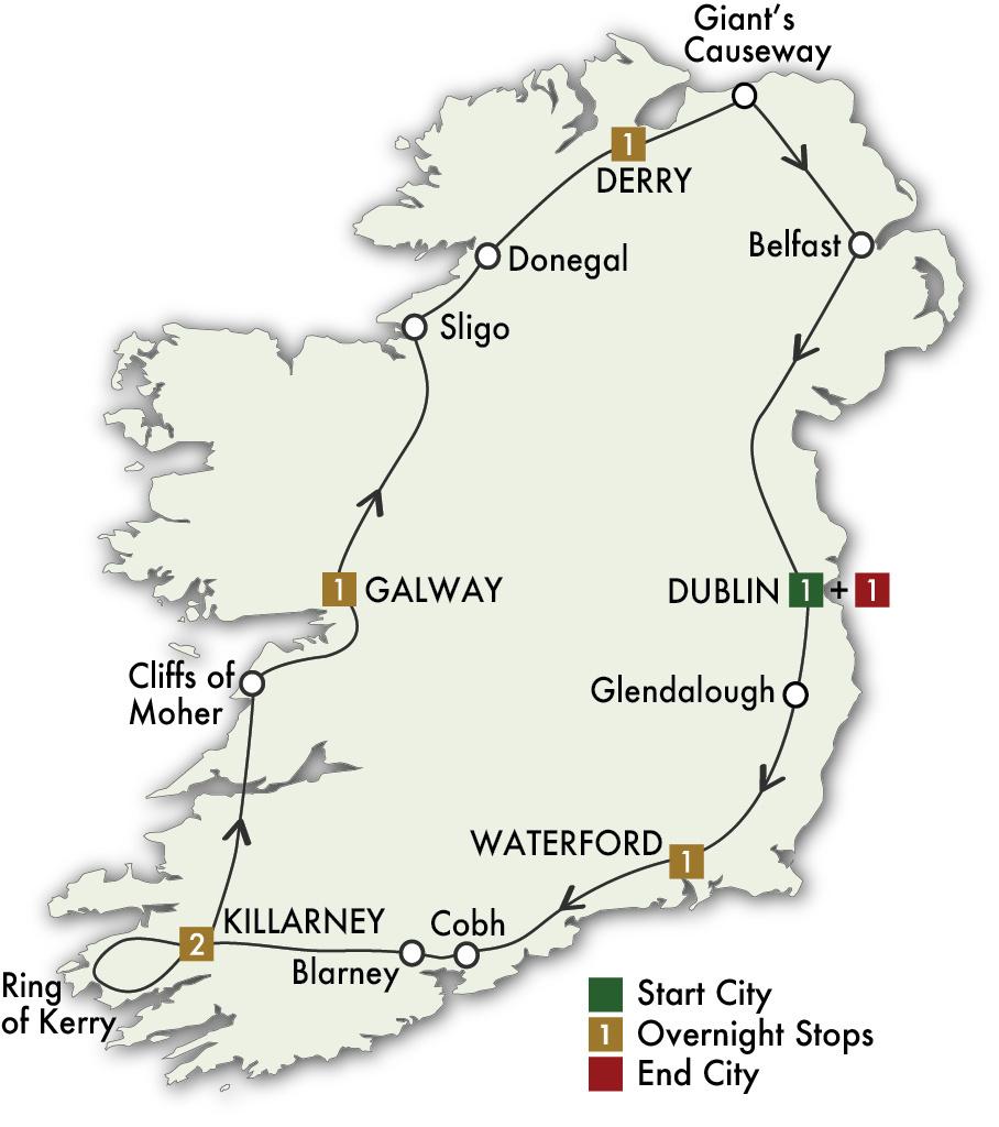 2022 Irish Adventure - 8 Days/7 Nights