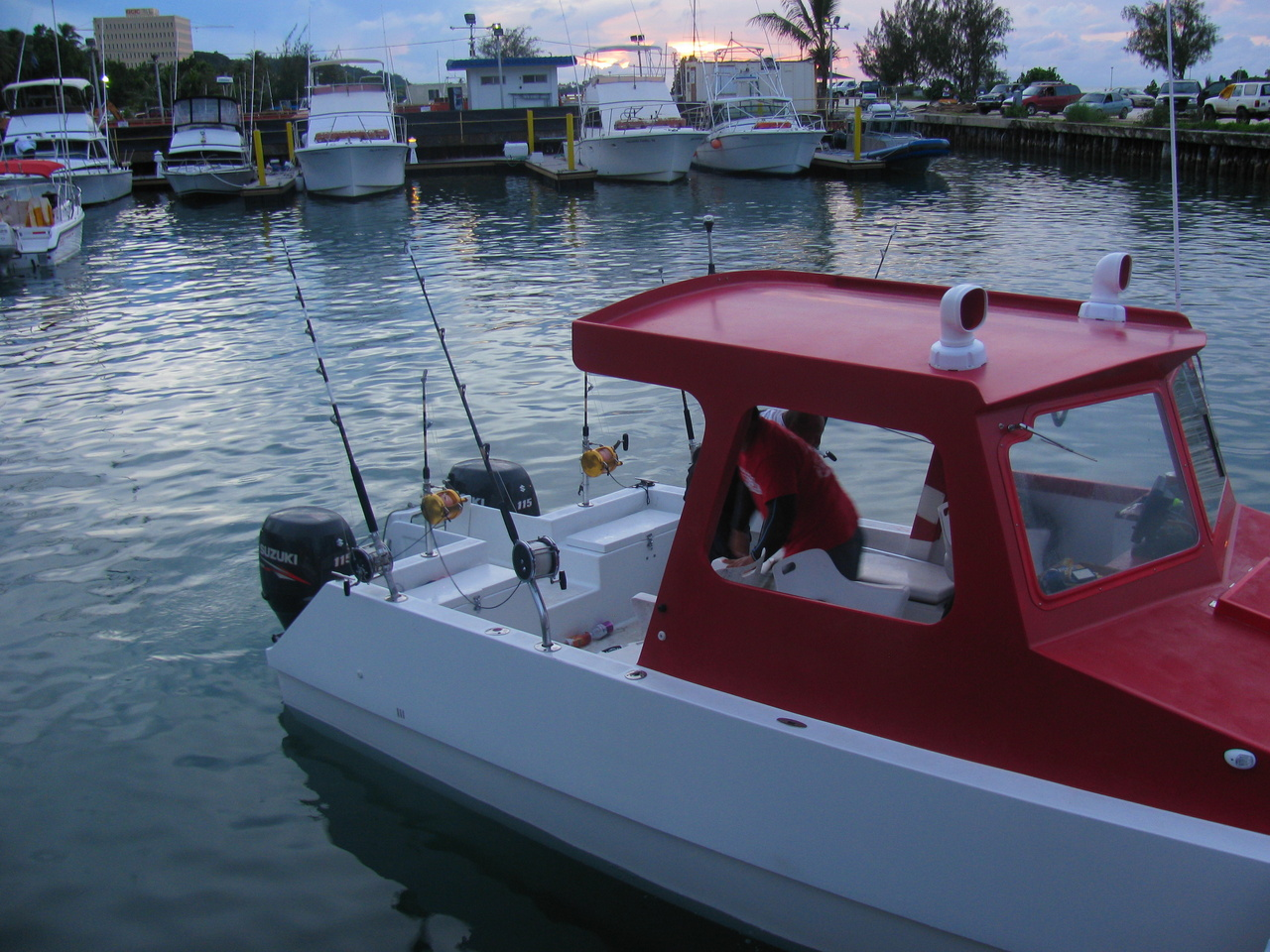 Mariana Islands fishing boat.