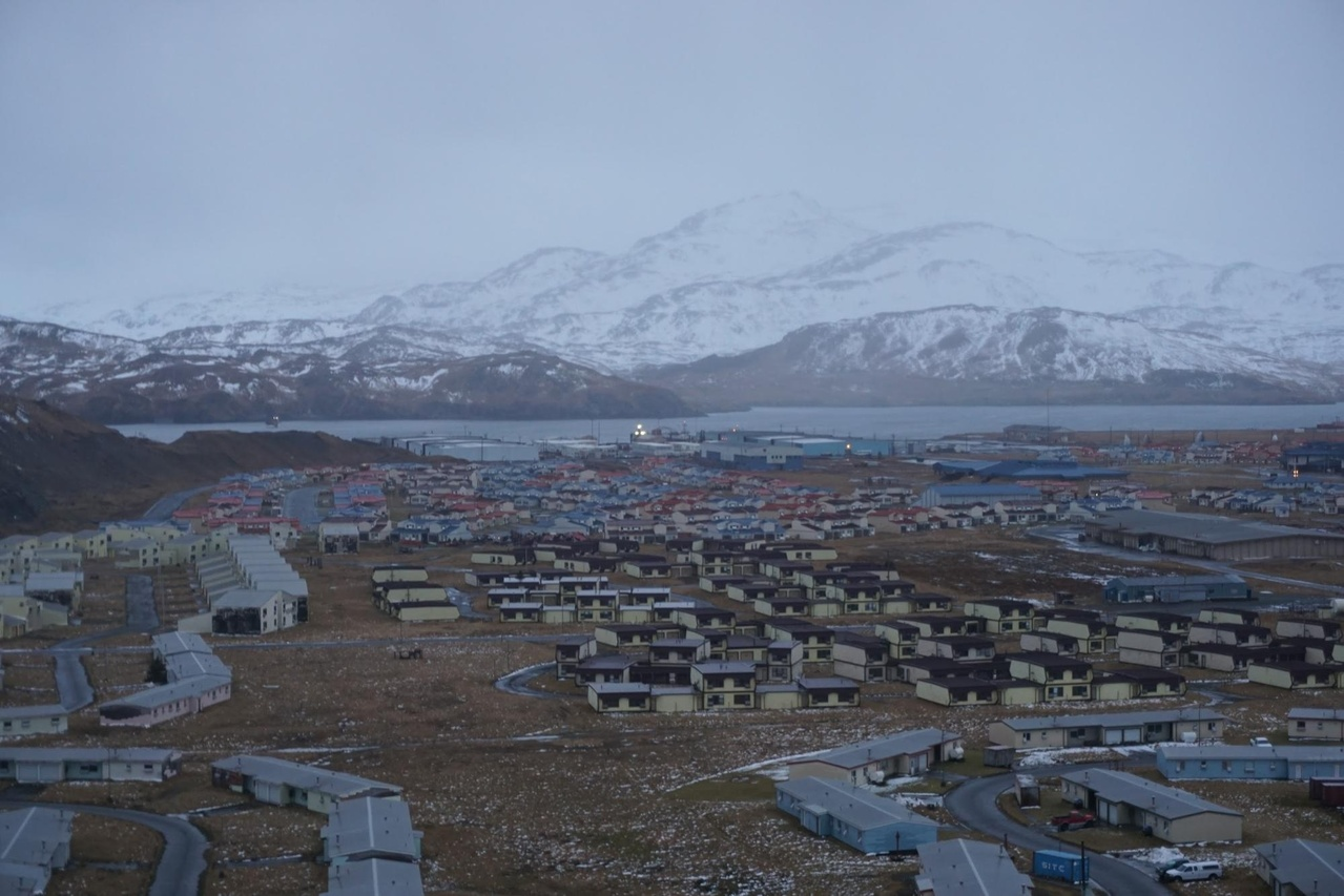 The fishing community of Adak.