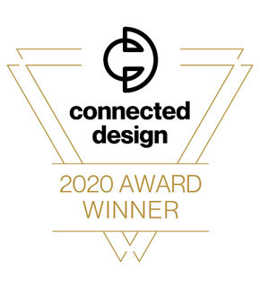 Connected Design 2020 Award Winner