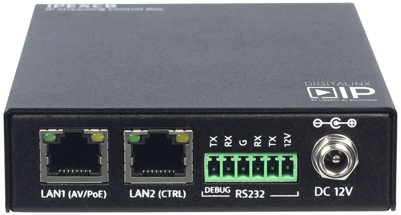 IPEXCB - HDMI Over IP RS232/IP Control Box for DigitalinxIP 2000 & 5000 series products