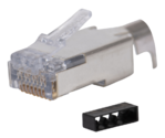 111S08080091C34 - Category 6 Shielded 8P8C RJ45 Plug
