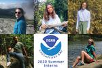 OAA Chesapeake Bay Office 2020 summer interns .