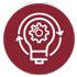brain lightbulb icon