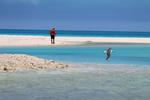 Keoni Wilhelm on Spit Island, Midway Atoll.