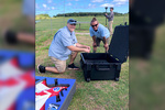 Drone workshop with two NOAA experts.