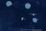 Map of The Pacific Remote Islands Marine National Monument