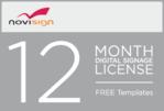 NOVI12 - Novisign Digital Signage 12 Month License