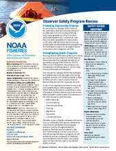 Safety Program Review Fact Sheet Oct. 2017