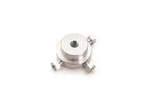 Mixing Tee, 1/32 Inch Stainless Steel, Bore Size = 0.545 Inch product photo