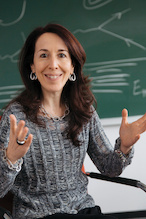 Alessandra Buonanno, University of Maryland College Park Professor of Physics, LIGO principal investigator and director at the Max Planck Institute for Gravitational Physics. Photo: Sven Doering-MPG / Agentur Focus. (Click image to download hi-res version.)
