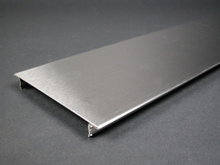 Wiremold S4000 Series Raceway Cover in Stainless Steel