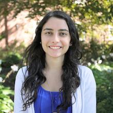 Biological sciences major Breanna Boggan. Photo: Faye Levine / University of Maryland.