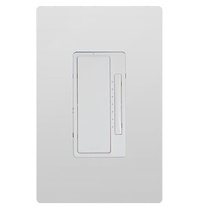 In-Wall 2-Wire Incandescent RF Dimmer, White