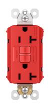 PlugTail® Spec-Grade Tamper-Resistant 20A Self-Test Duplex GFCI, Red