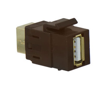 USB A/B Keystone Adapter Insert