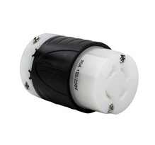 Heavy-Duty Ground Continuity Monitoring (GCM) Connector, Black & White