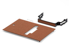 Outdoor Ground Box Cover Plate Kit, Brown