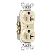 20A, 125V Dual-Controlled Plug Load Controllable Receptacle, Light Almond