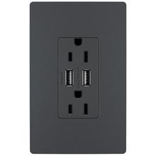 radiant® 15A Tamper-Resistant USB Outlet
