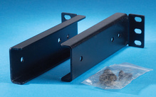 Rear support brackets - for folding keyboard shelf