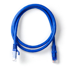 1 FT CATEGORY 6 PATCH CABLE-BLUE