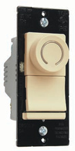 Deco Rotary CFL/LED Dimmer, Ivory