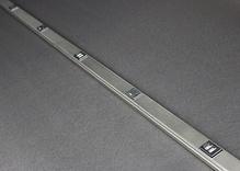 Plugmold 5' Alternating USB Tamper Resistant Multioutlet System in Stainless Steel