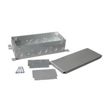 Omnibox® Series Three Gang Steel Floor Box