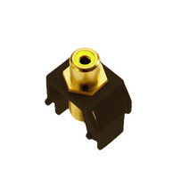 Yellow RCA to F-Connector, Brown