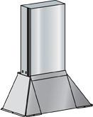 FIBER TROUGH CABINET CONN HOOD  PLASTIC