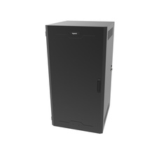 SWING-OUT WALL MOUNT CABINETS - 12RU - Solid Door