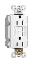 PlugTail® Spec-Grade Tamper-Resistant 15A Self-Test Duplex GFCI, White