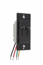 LS Series Fan Speed/Dimmer Control, Black