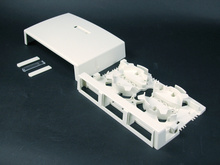 Uniduct 2700-2800-2900 Series Three-Insert Multimedia Box Fitting