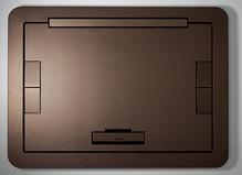 Evolution Series EFB6, EFB8, EFT10 Floor Box Flush Style Cover with Solid Lid