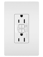 radiant® 15A  Tamper-Resistant Self-Test GFCI Outlet with Audible Alarm