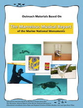 The Marvelous Musical Report of the Marine National Monument cover page.