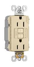PlugTail® Spec-Grade 15A Self-Test Duplex GFCI, Ivory