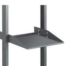 Equipment Shelf - Solid - 19 in Mounting - 15.50 in D