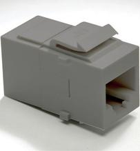 Cat 5e RJ45 Data Coupler Insert, Magnesium