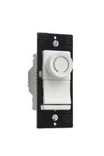 Deco Rotary CFL/LED Dimmer, White