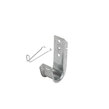 1-5/16'' JHook Wide Base w/retainer clip - Box of 50 [F000625]