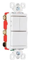 Specification Grade Decorator Combination Switch, White