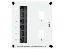 6-Port Cat 5e Network Interface Module