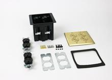 WMFB2DR2B Series Dual-Gang Floor Box Assembly