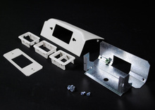 DS4000 Downward Ortronics Series II Device Plate Fitting