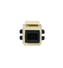 MT-RJ Multimode Fiber Keystone Coupler Insert