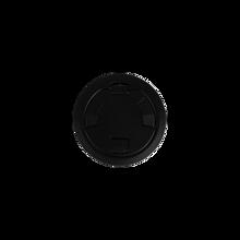 6CT Evolution™ Poke Thru Surface Style Cover, Black